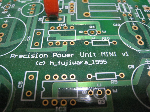 自作キット ディスクリート正負電源基板mini その1_画像2