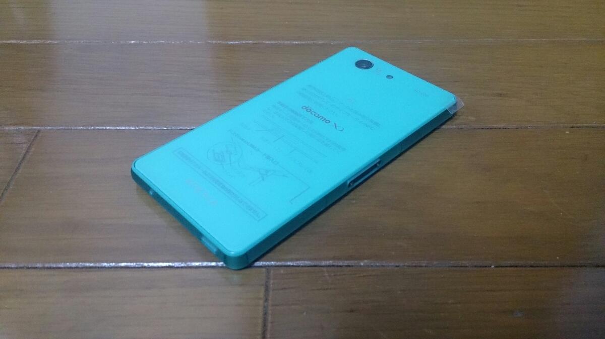 即落/即発!!新品未使用 SO-02G Xperia Z3 compact グリーン_画像2