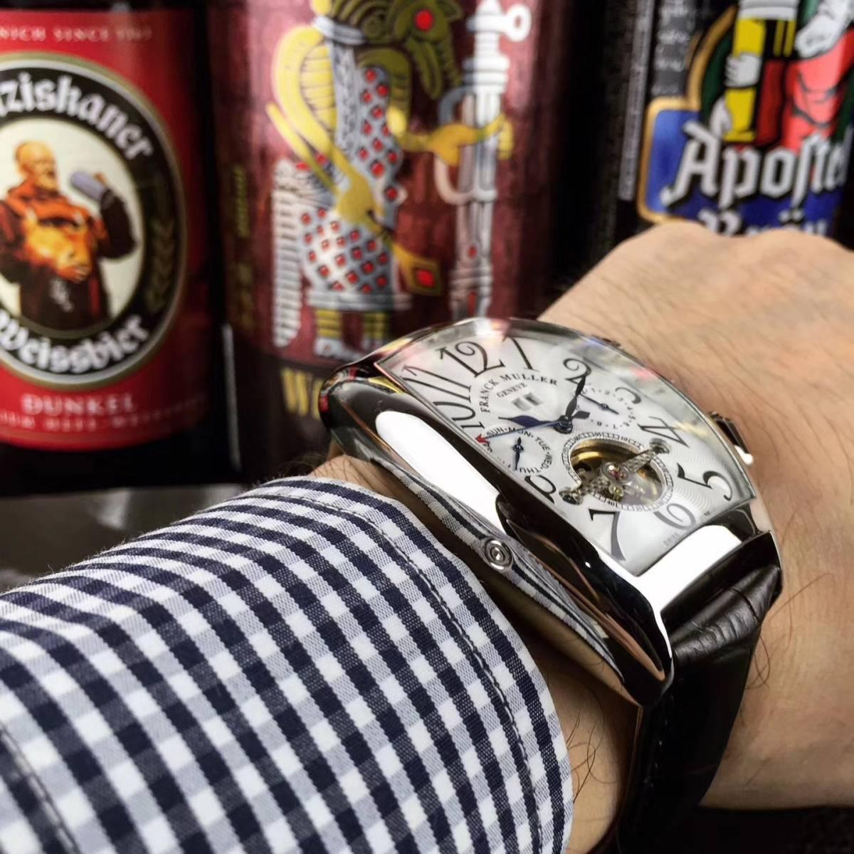 【新品】 高級 フランクミュラー Franck Muller 自動巻き メンズ 腕時計_画像3