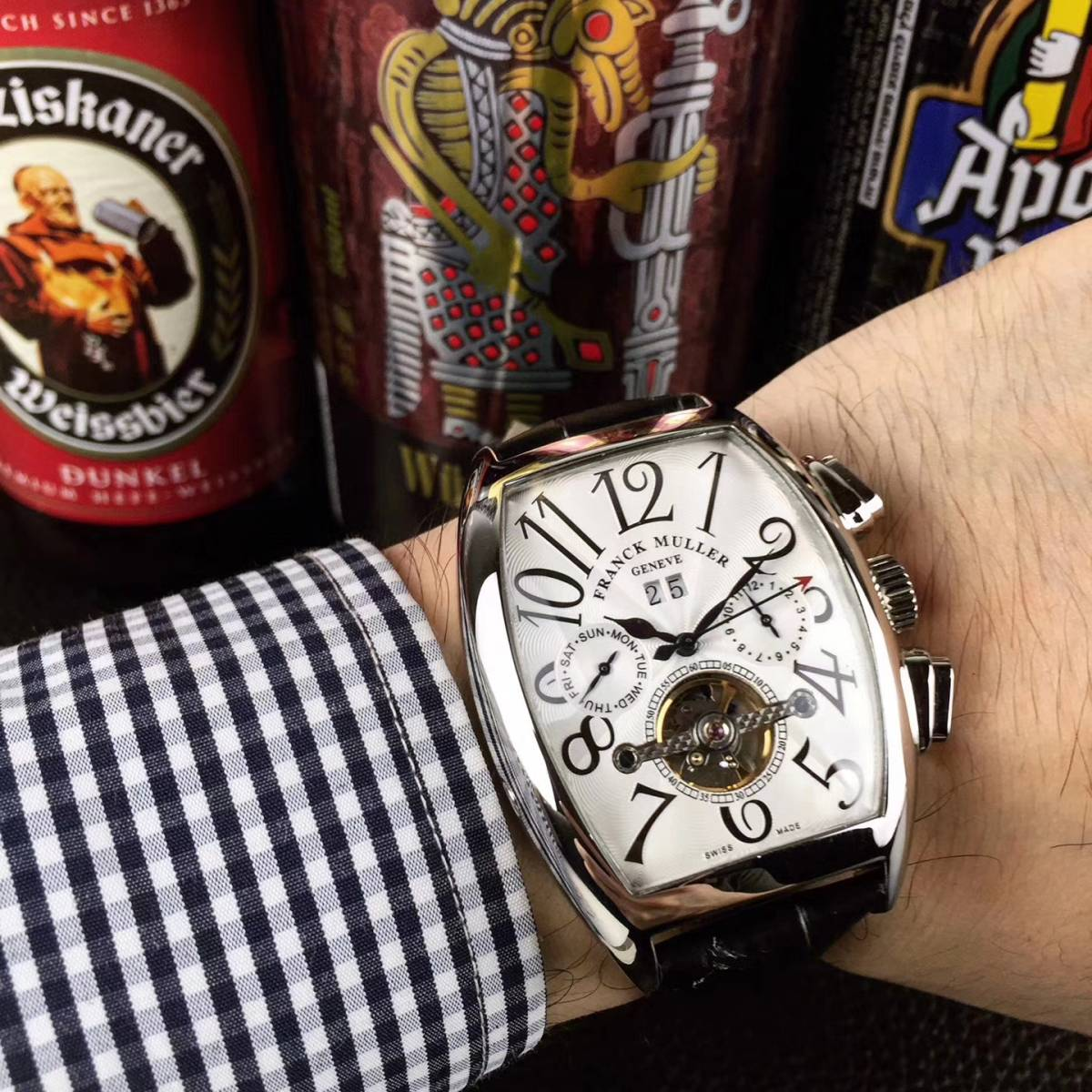 【新品】 高級 フランクミュラー Franck Muller 自動巻き メンズ 腕時計