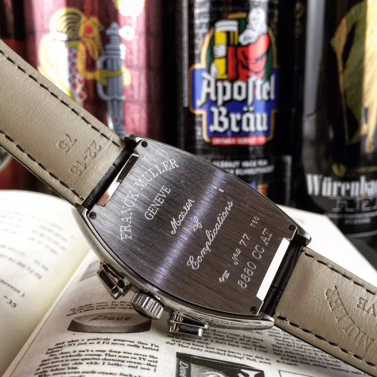 【新品】 高級 フランクミュラー Franck Muller 自動巻き メンズ 腕時計_画像2