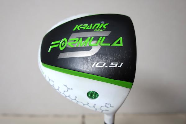 KRANK FORMULA 10.5度 クレイジーLY-01 6.9 (クランク・フォーミュラー ロンゲストヤード SR) ドラコン