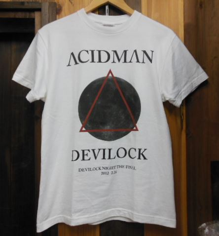 ACIDMAN Tシャツ the HIATUS Syrup16g フジファブリック Base Ball Bear UNISON SQUARE GARDEN