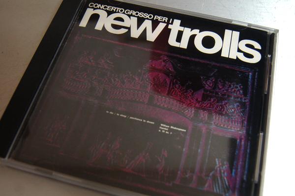 New Trolls ニュー・トロルス Concerto Grosso Per I コンチェルト・グロッソ K32Y 2056 帯無し 解説有り 但し若干シワ有り バカロフ USED_画像1