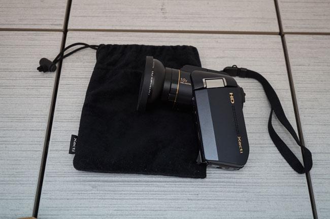 【送料無料1円~】Xacti サンヨー SANYO デジタルムービーカメラ HD1010 美品 A920-9