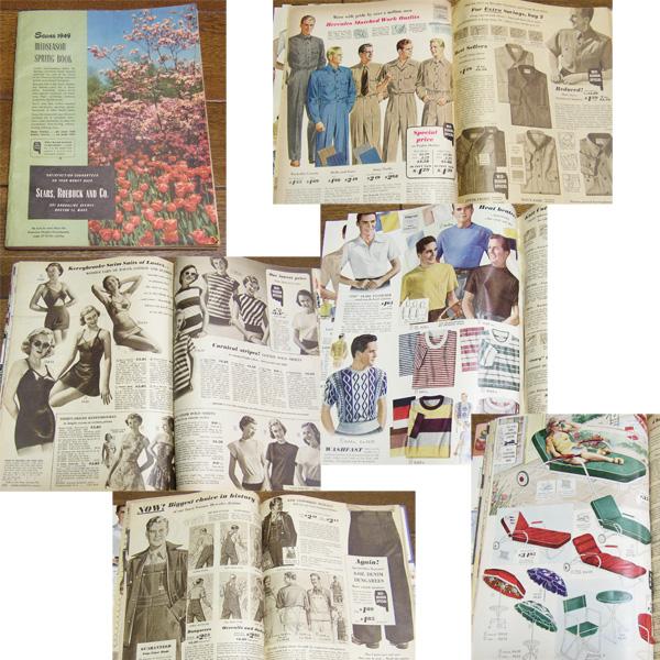 1949年 ビンテージ SEARS カタログ/ 50's,ロカビリー,FIFTIES,エルビス,40's,シアーズ,30's,アールデコ,ARTDECO,雑誌,LIFE,アンティーク_画像1