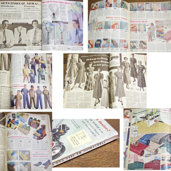 1949年 ビンテージ SEARS カタログ/ 50's,ロカビリー,FIFTIES,エルビス,40's,シアーズ,30's,アールデコ,ARTDECO,雑誌,LIFE,アンティーク_画像3