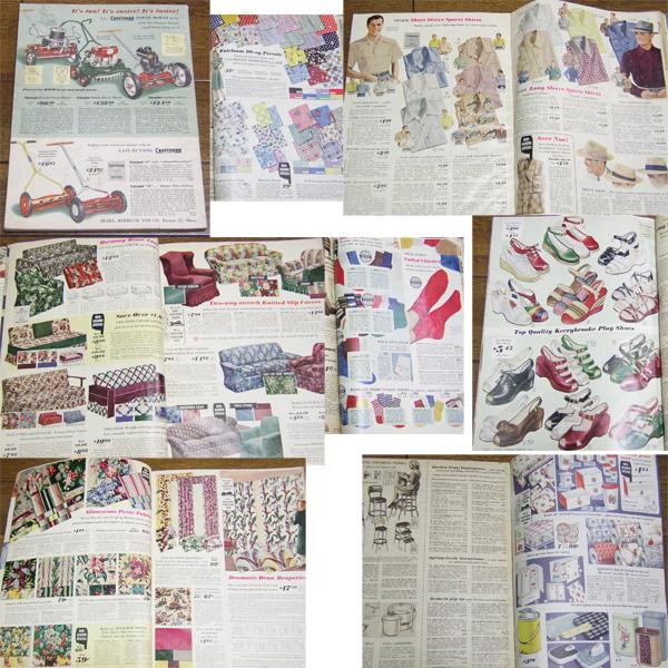 1949年 ビンテージ SEARS カタログ/ 50's,ロカビリー,FIFTIES,エルビス,40's,シアーズ,30's,アールデコ,ARTDECO,雑誌,LIFE,アンティーク_画像2