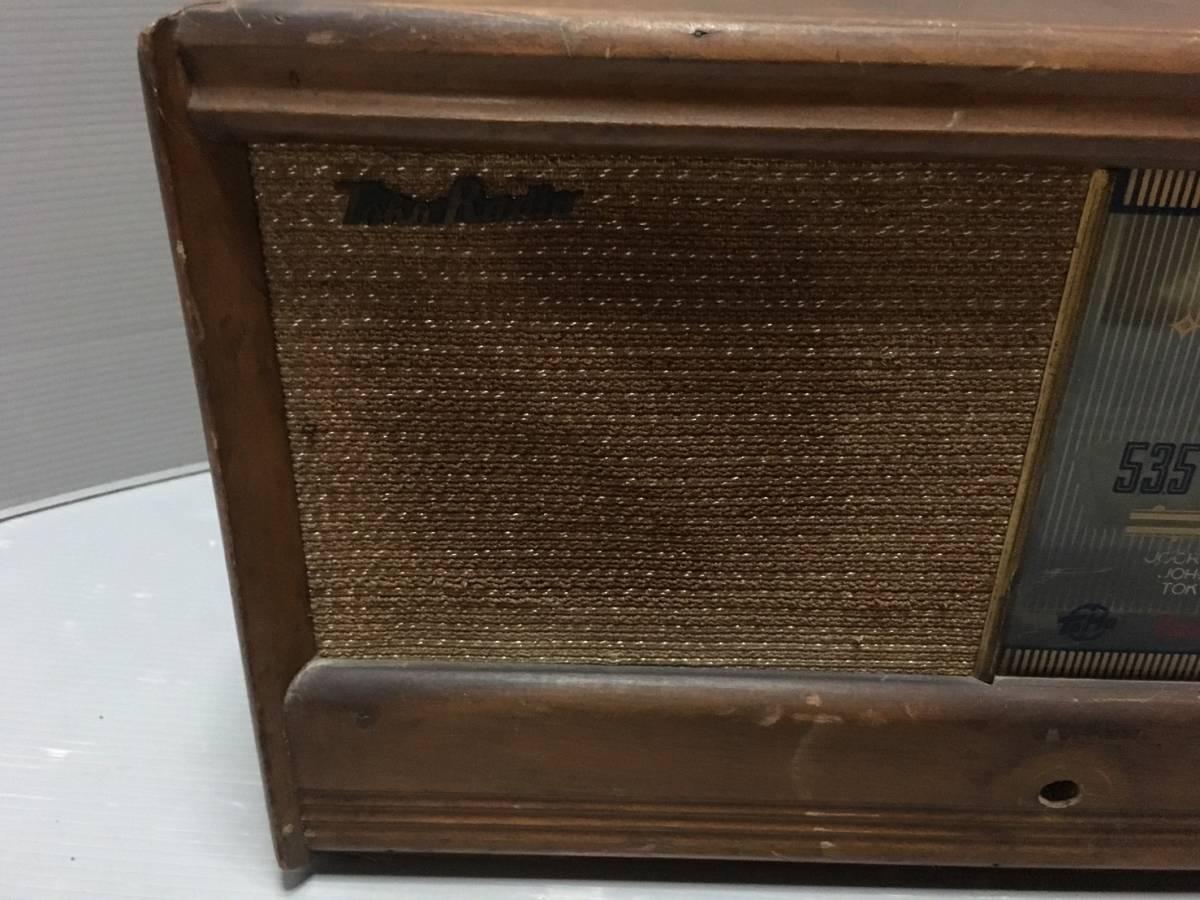TOHO 真空管ラジオ KD-15 当時物 希少レア ジャンク_画像3