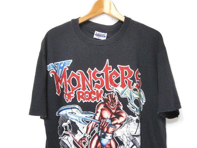 激レア!! ビンテージ 88年【Monsters Of Rock】80s フェス バンドTシャツ【METALLICA】【DOKKEN】【SCORPIONS】【VAN HALEN】出演!!