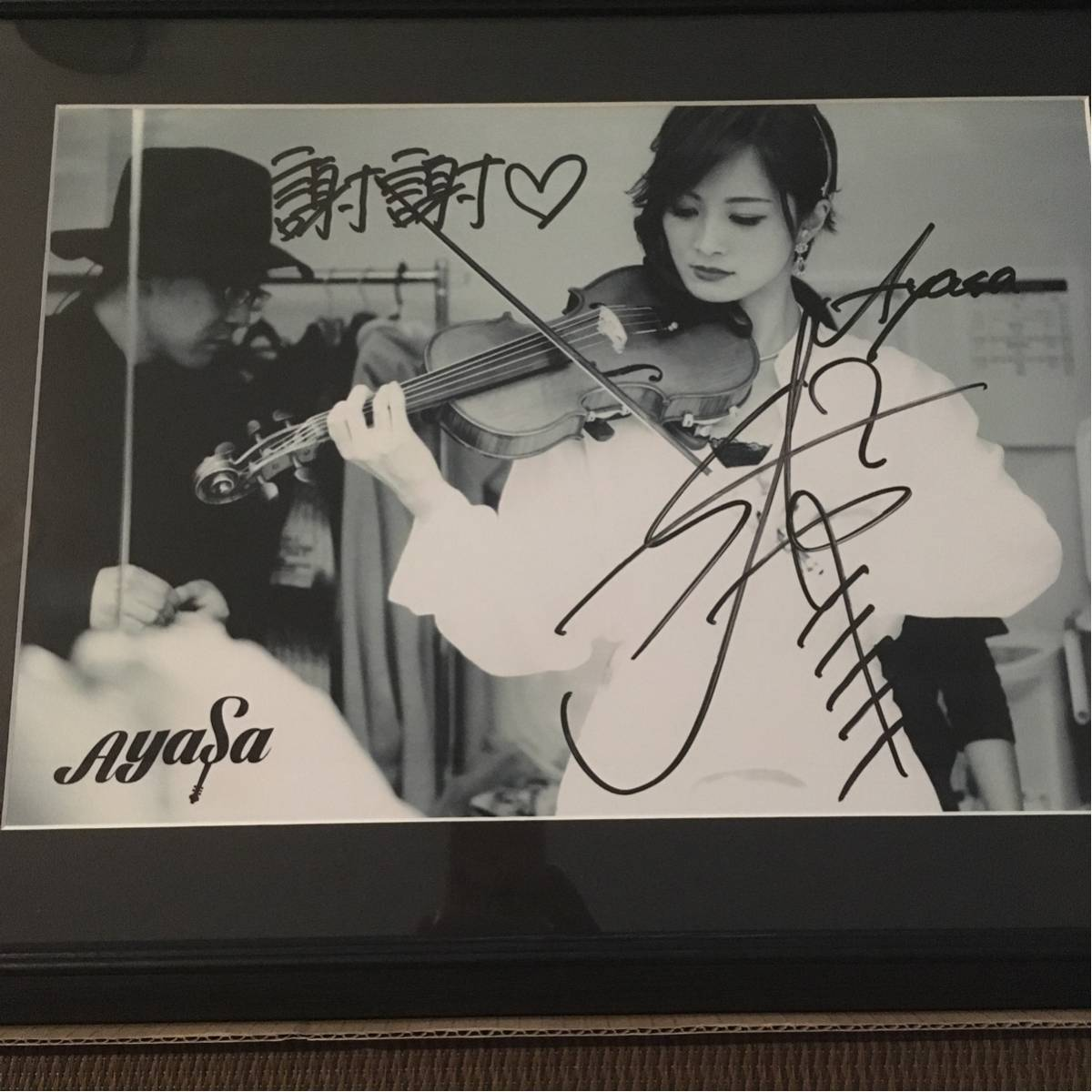 Ayasa 公式ライブフォト 直筆サイン入り 第2弾♯9