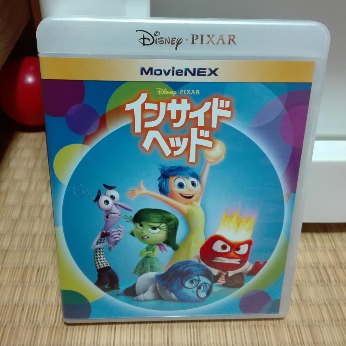 【送料無料】国内正規品 新品未使用 インサイドヘッド Blu-ray ブルーレイ DVD  ディズニーグッズの画像
