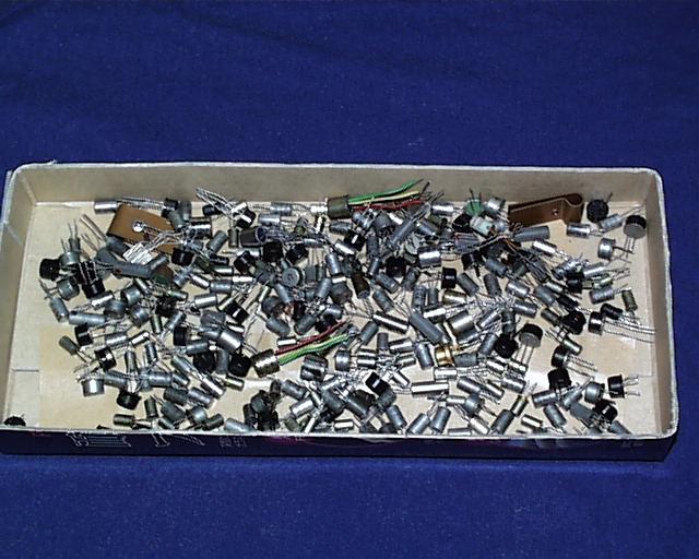 昔の日本製ゲルマニウムトランジスター低周波用 多数 その1 ジャンク