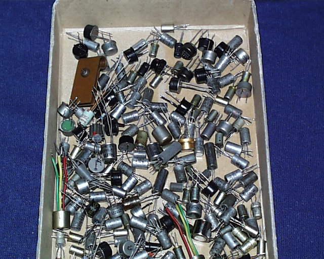 昔の日本製ゲルマニウムトランジスター低周波用 多数 その1 ジャンク_画像3