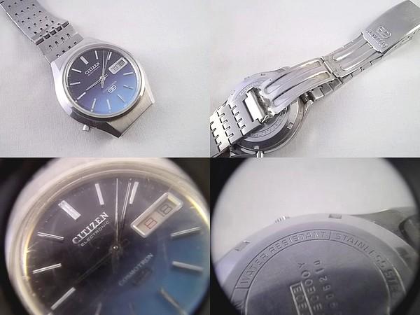 r91x92★シチズン 腕時計 コスモトロン 電子時計 ジャンク_画像2