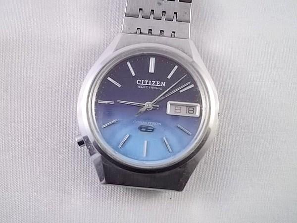 r91x92★シチズン 腕時計 コスモトロン 電子時計 ジャンク