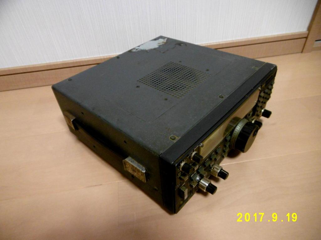 ICOM アイコム IC-R71 動作未確認 ジャンク扱い 無線機_画像2