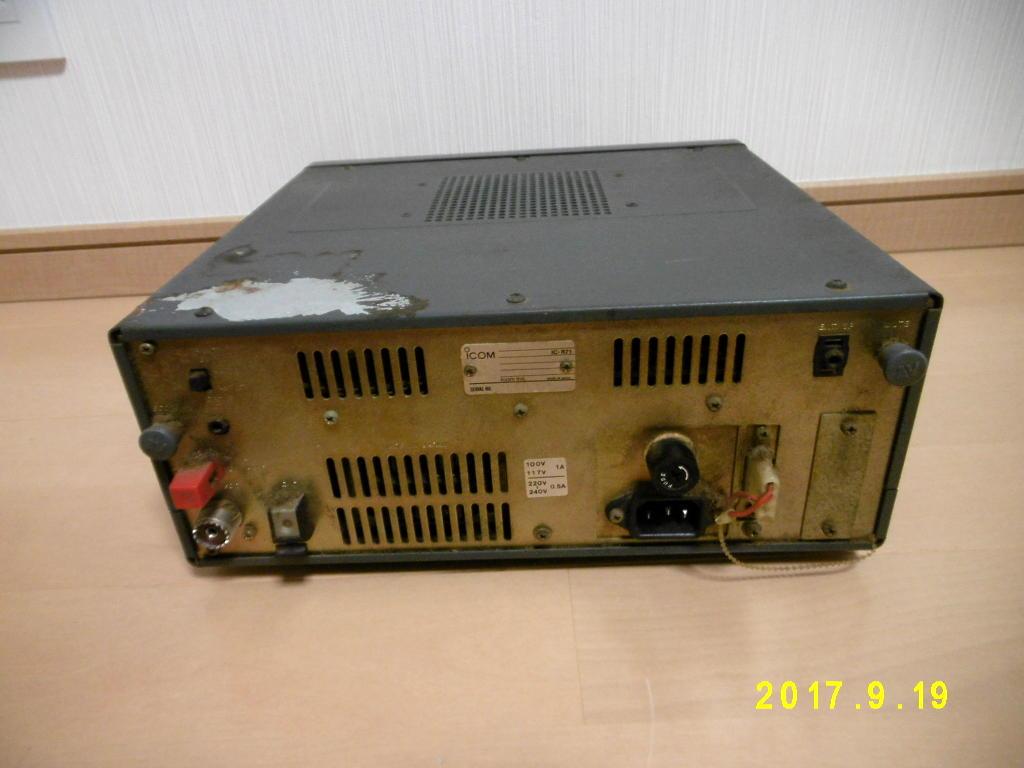 ICOM アイコム IC-R71 動作未確認 ジャンク扱い 無線機_画像3