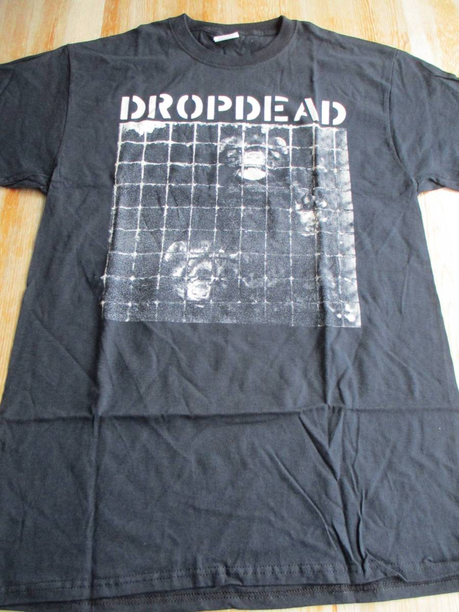 DROPDEAD Tシャツ unjustified murder 黒M バックプリントあり / los crudos mk ultra charles bronson no comment spazz siege