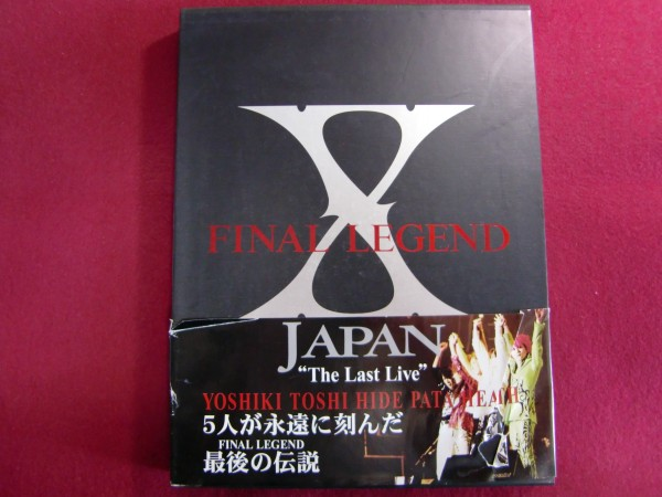 560/FINAL LEGEND―X JAPAN The Last Live/初版帯付き/エックス写真集