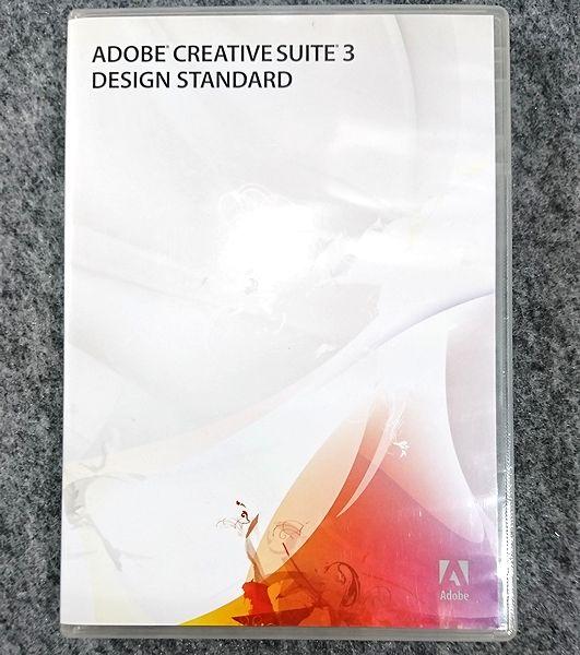 正規品 Adobe Creative Suite 3 Design Standard Mac 日本語版 アドビ Illustrator_CS3 Photoshop_CS3 Acrobat8pro InDes_CS5他