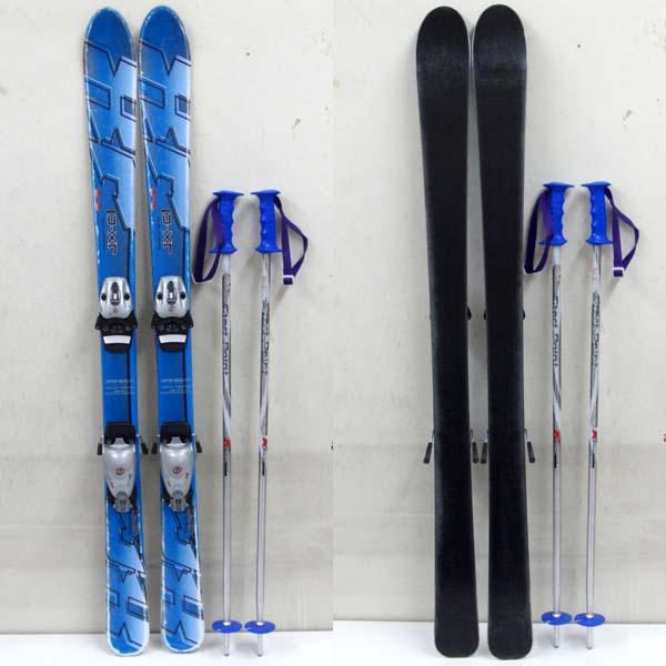 Bluemoris ブルーモリス JX-C1 ジュニアスキー 118cm 3点セット こども/子供_画像1
