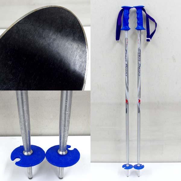 Bluemoris ブルーモリス JX-C1 ジュニアスキー 118cm 3点セット こども/子供_画像3