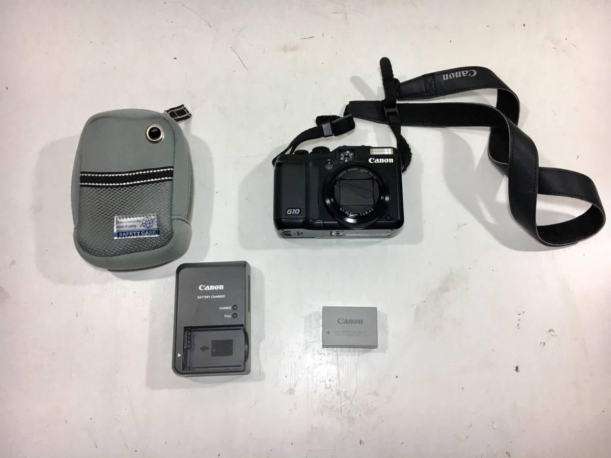 I14▲Canon キャノン PC1305 パワーショットG10 デジタル カメラ デジカメ 当時物