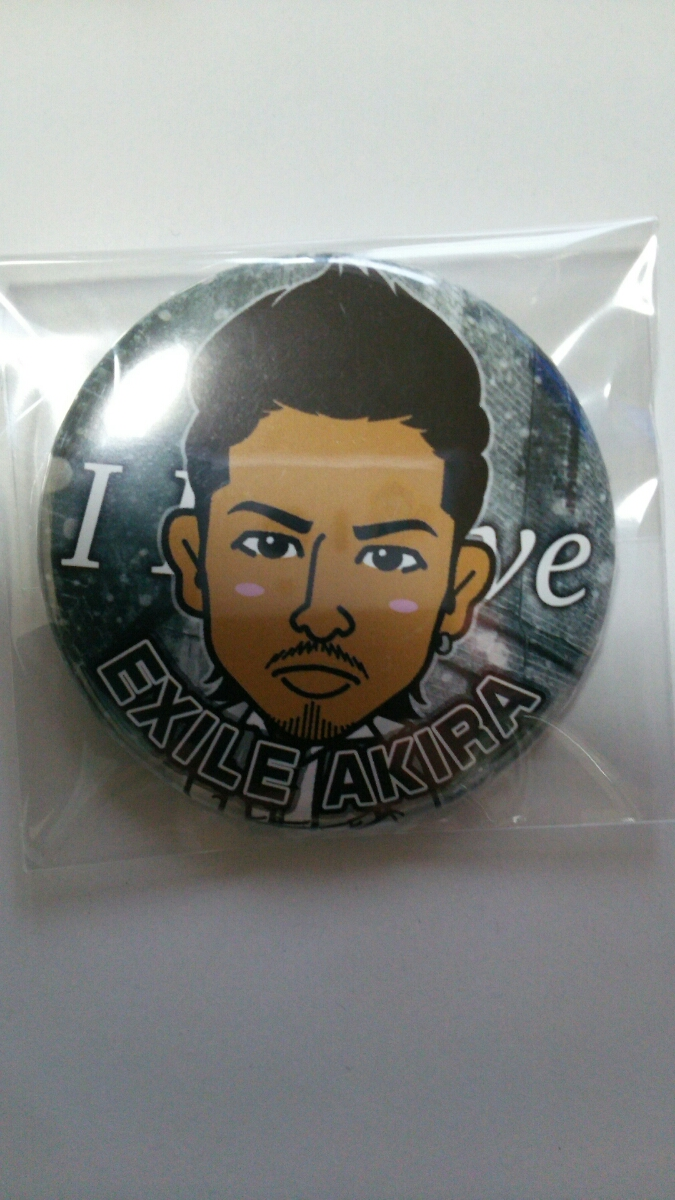 EXILE THE second AKIRA I Believe 缶バッジ 居酒屋えぐざいる