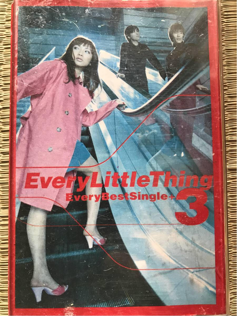 Every Little Thing Every Best Single+3 カセットテープ