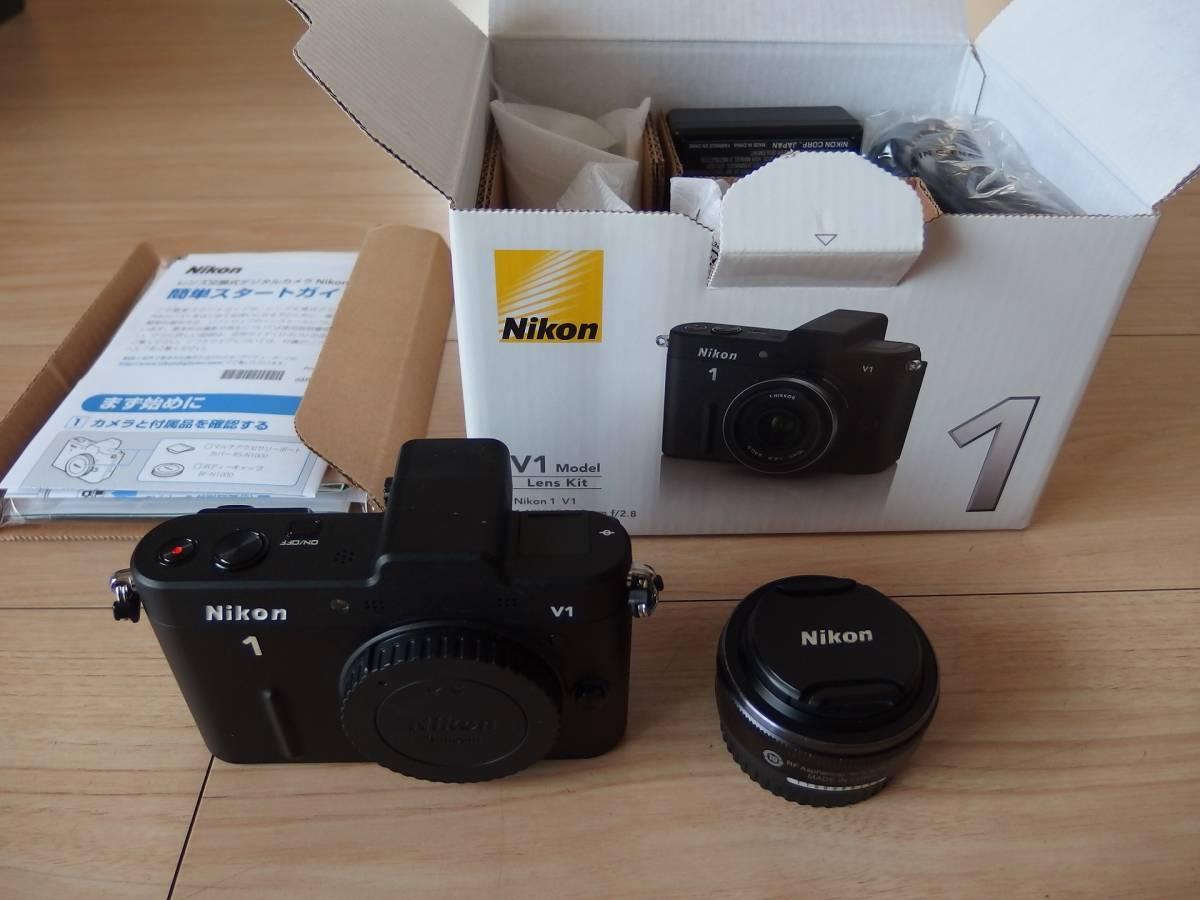 NIKON V1 薄型レンズキット 10mm/F2.8 中古美品