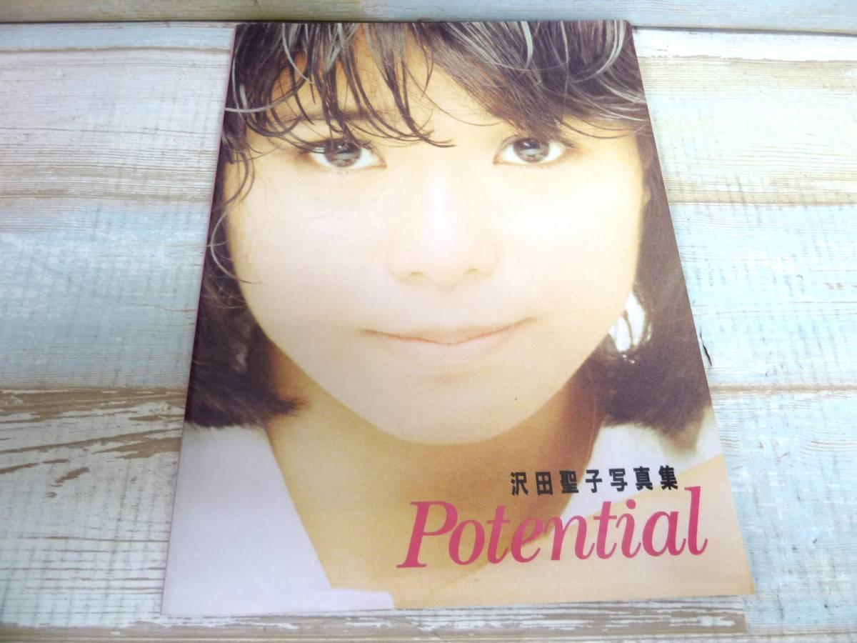 沢田聖子 写真集 Potential 1985年 実業之日本社 希少品 全国送料無料