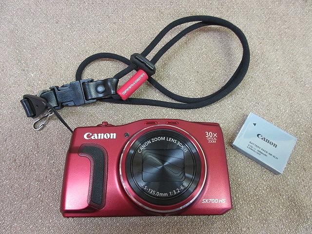 jk9052E●Canon キャノン デジタルカメラ PowerShot SX700 HS レッド●