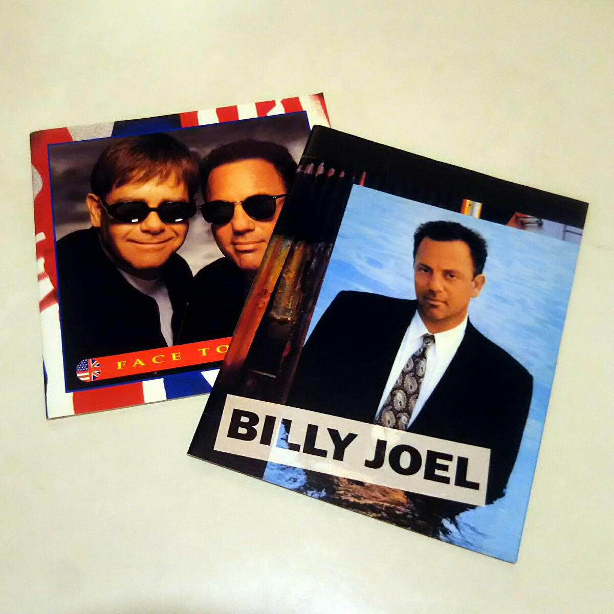 Billy Joel & Elton John Face to Face / 1995 ツアーパンフ【2冊セット】