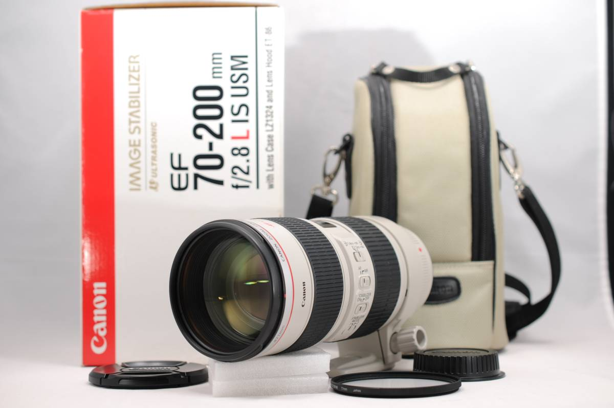 美品 CANON キヤノン EF 70-200mm F2.8 L IS USM #848