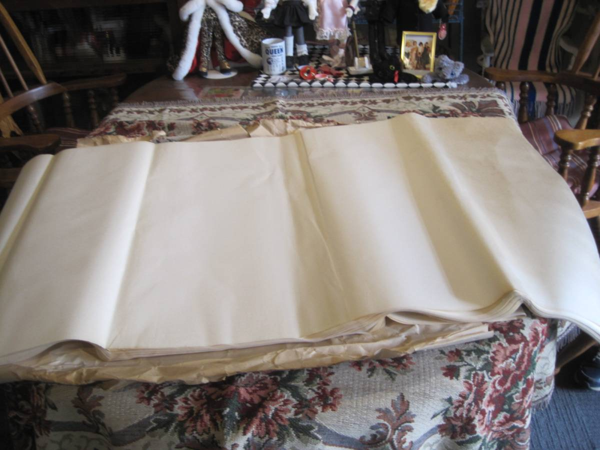 古い半紙 69×136cm  3.5キロ分_画像2