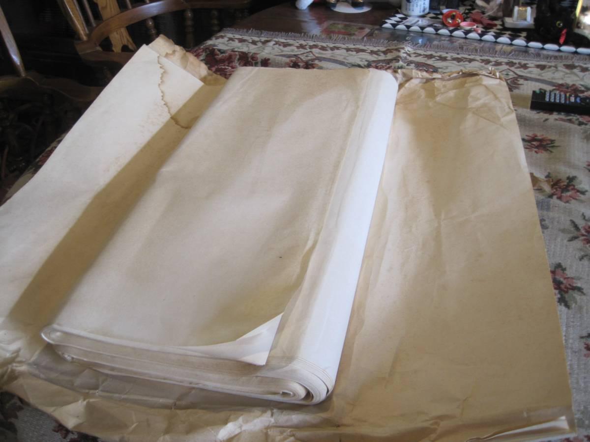 古い半紙 69×136cm  3.5キロ分