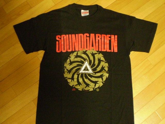 激レア SOUNDGARDEN nirvana alice in chains mudhoney sonic youth black flag グランジ Tシャツ