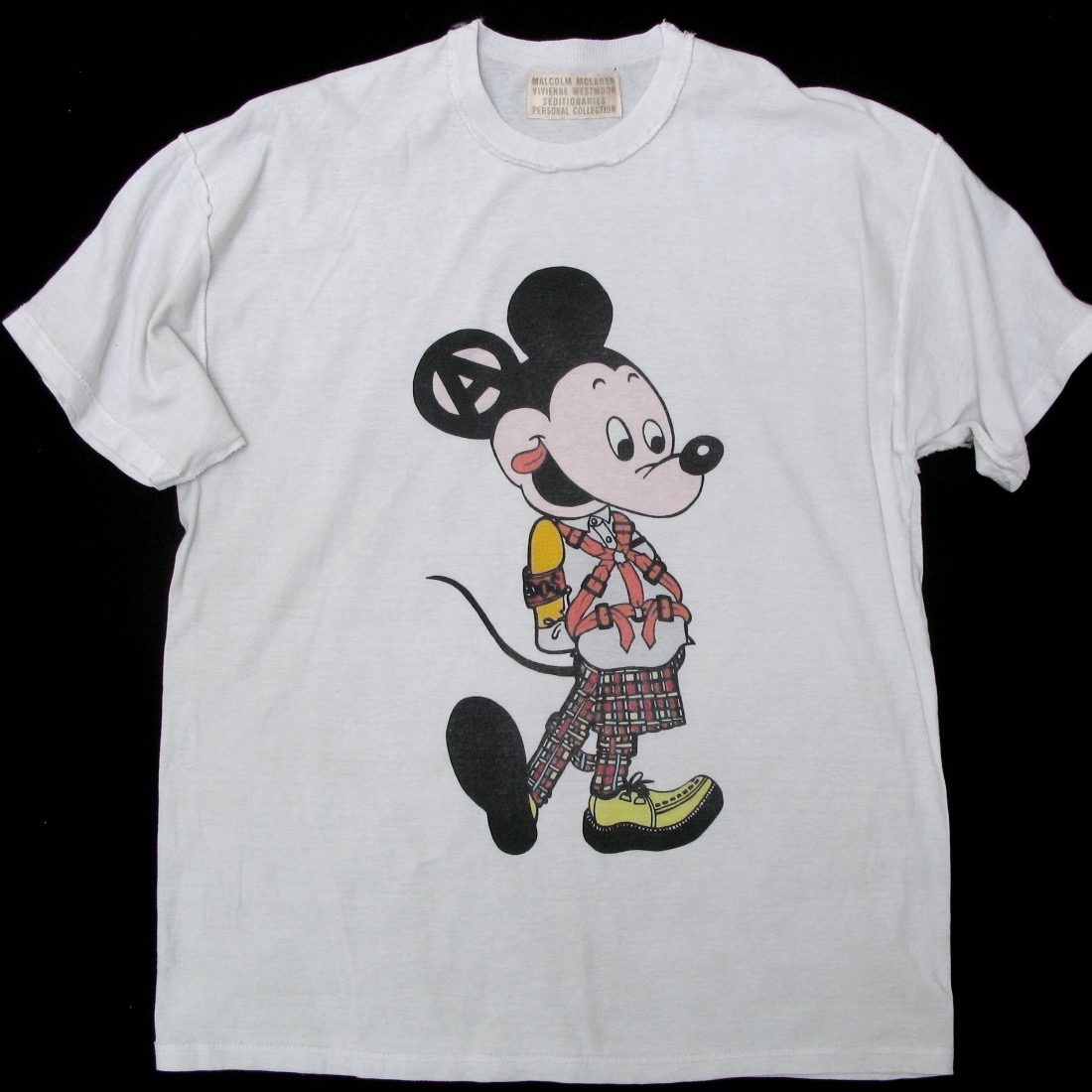 BOY製Mickey Mouse wearing Seditionaries・Vivienne Westwood / Sex Pistols / Punk Fas