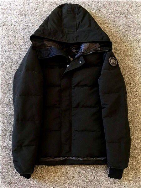 国内人気 ダウンジャケット カナダグース ブラックラベル MacMillan 黒 M