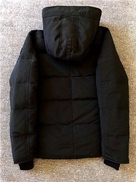 国内人気 ダウンジャケット カナダグース ブラックラベル MacMillan 黒 M_画像3