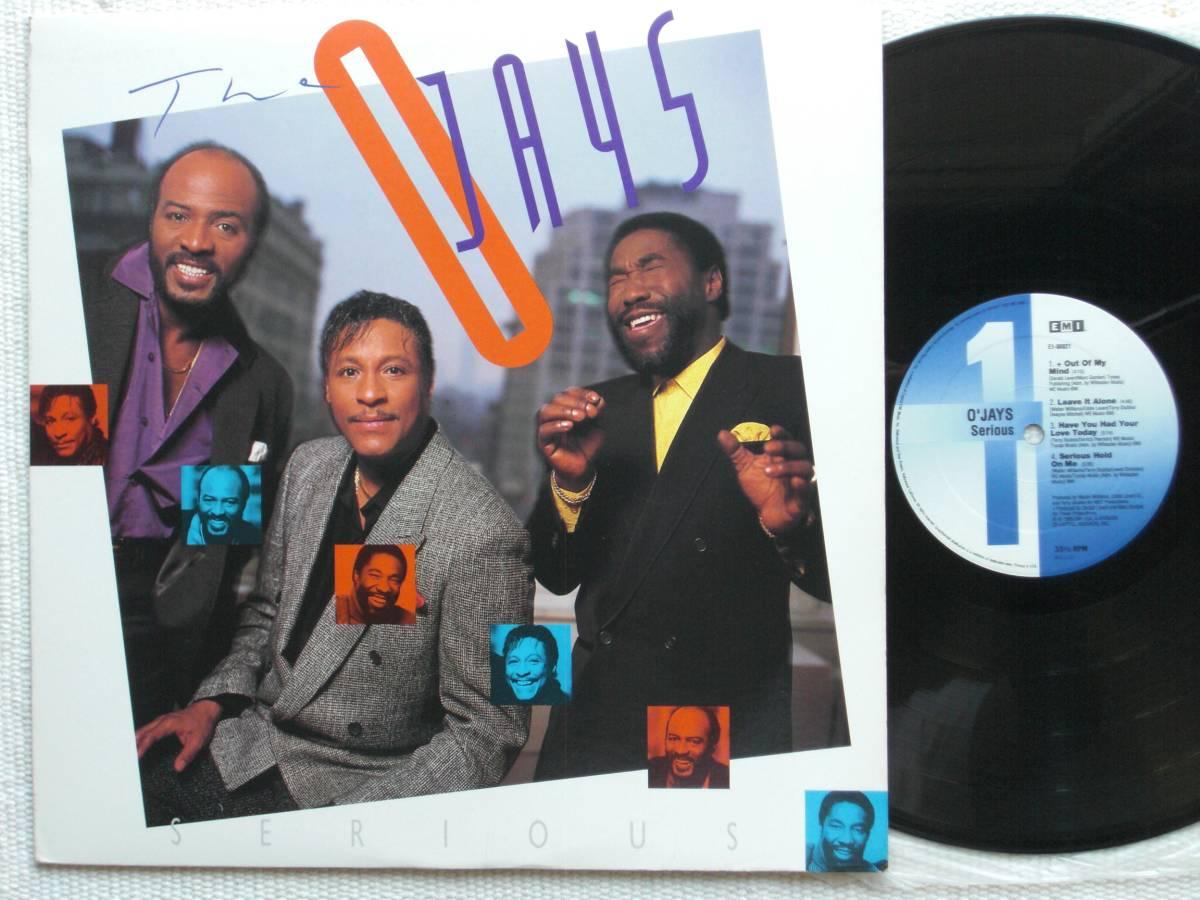 USオリジナル盤LP The O'Jays / Serious  (EMI USA E1-90921 )★ ☆_画像1