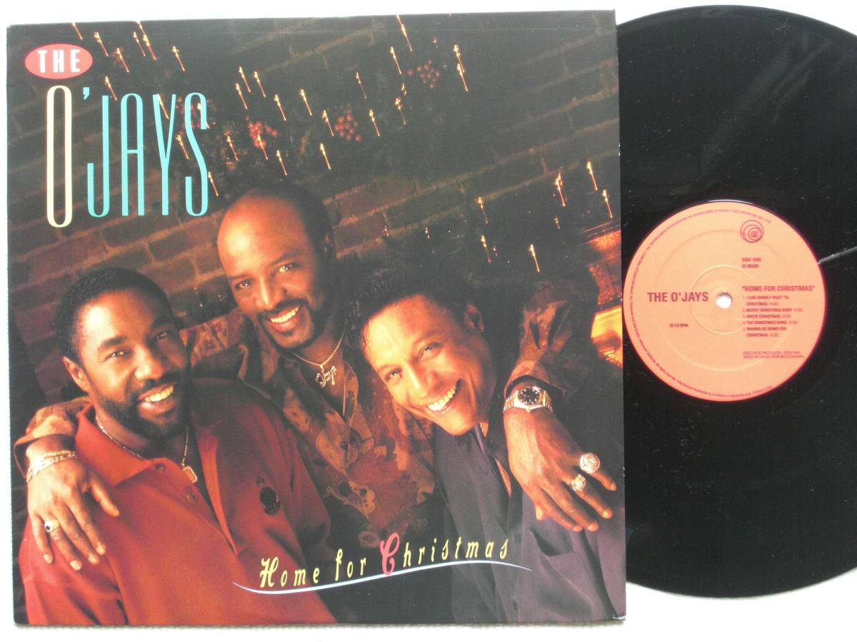 USオリジナル盤LP The O'Jays / Home For Christmas  (EMI Records USA EI-96420 )★ ☆_画像1