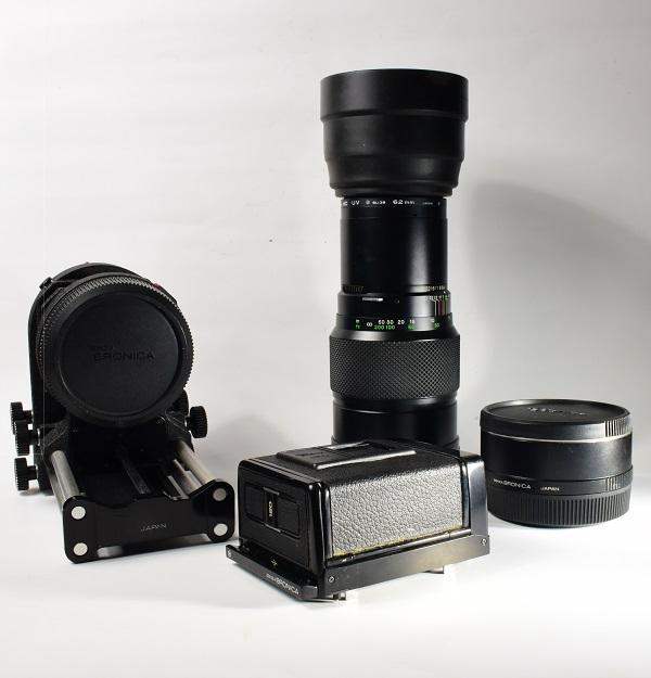 カメラ 【 ZENZA BRONICA ETR / レンズセット 】パーツセット / ブロニカ