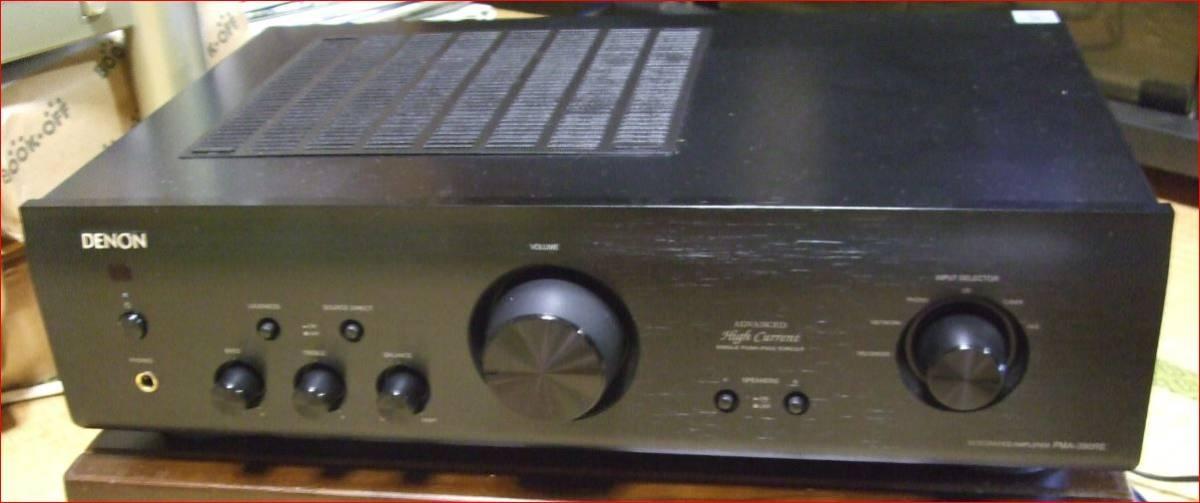 美品 DENON プリメインアンプ PMA-390RE ブラック