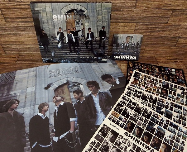 ♪SHINHWA/神話/シンファ 『Third Photo Album SHINHWA VISUAL ESSAY ADDICT』韓国正規版 写真集+VCD♪z13893