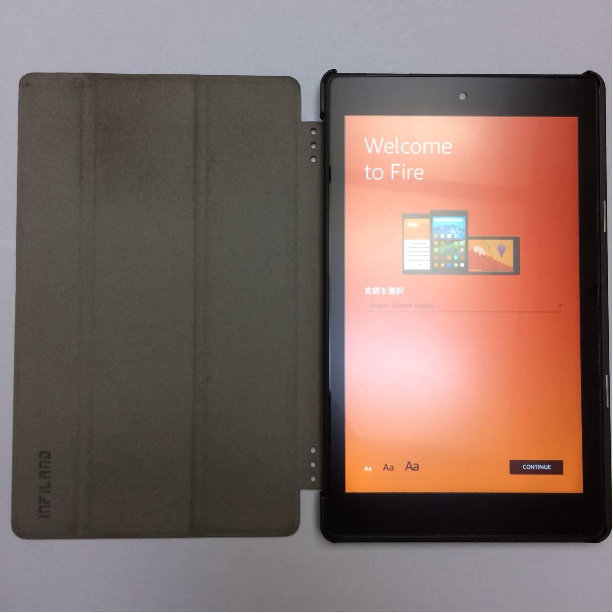 【中古品】amazon Kindle FIRE HD 8 16GB (第6世代)_画像3