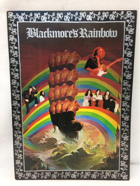 レインボー ツアーパンフレット Blackmore`s Rainbow 1976 Deep Purple ディープパープル リッチーブラックモア