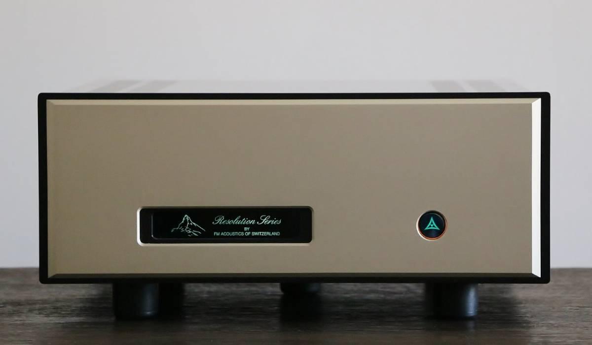 格安名機 FM Acoustics FM711 パワーアンプ アクシス正規品 美品 希少 AXISS FMアコース