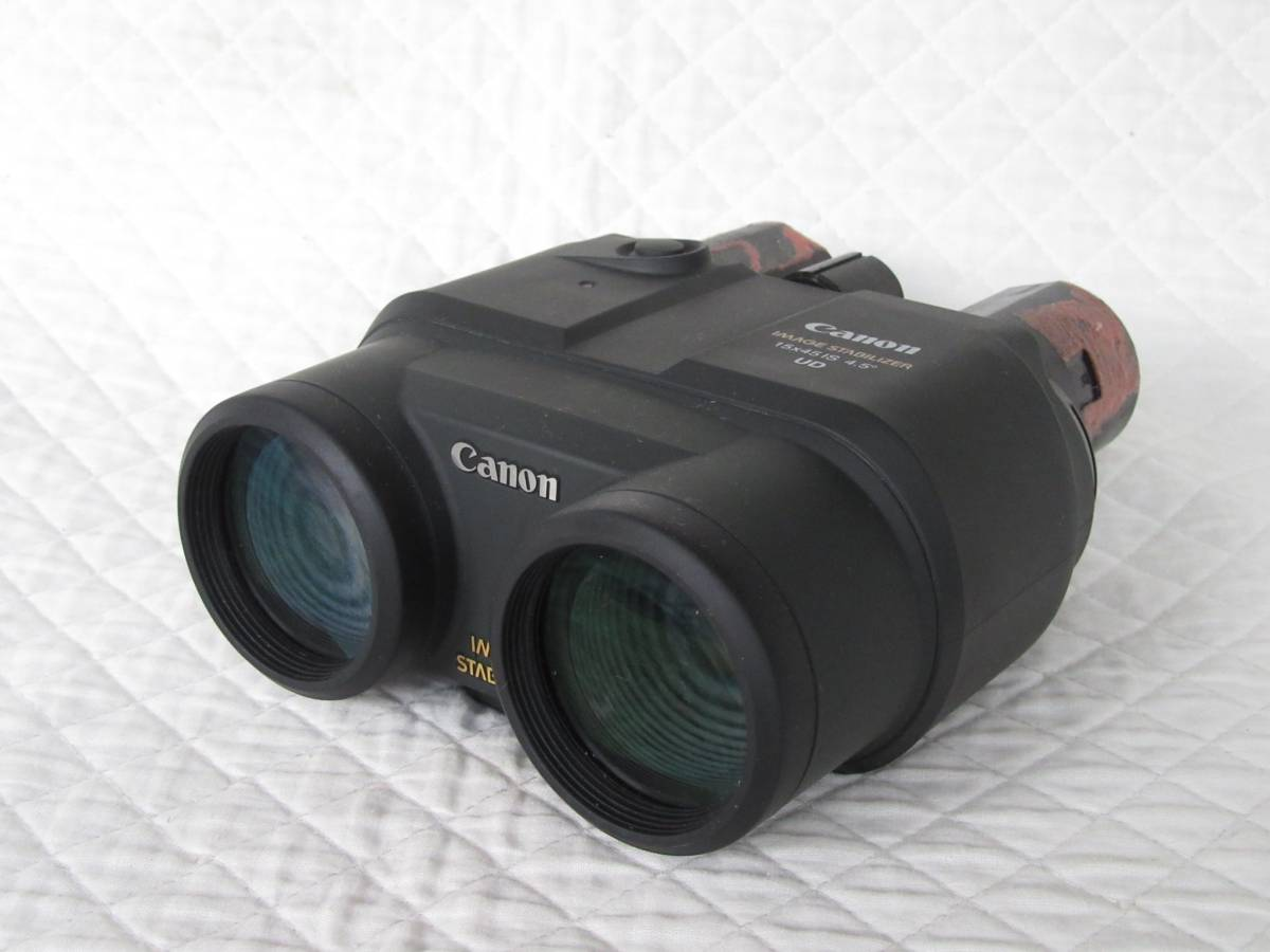 ◆Canon/キヤノン 双眼鏡15×45IS 4.5° IMAGE STABILIZER UD(ジャンク)◆
